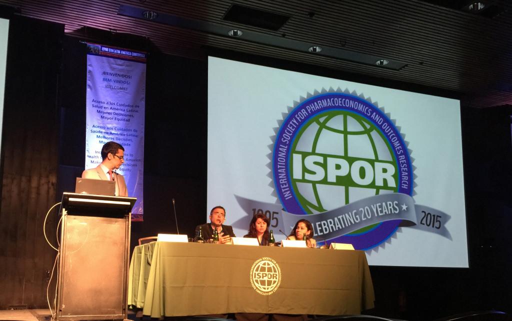 Sessão no encontro da ISPOR discutiu limiares de disposição a pagar por tecnologias na América Latina